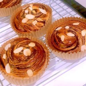 【パン教室】渦巻チョコロールのレシピ完成!(板橋区)