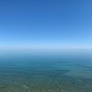 綺麗な湖再び