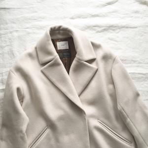 大人気!イエナMANTECOオーバーチェスターコートを買いました