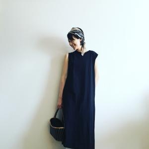 今買い足すならコレ‼️黒のノースリーブワンピースは40代の「明日何着る?」を解決