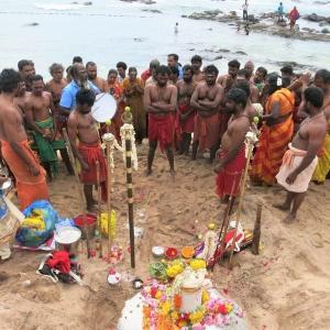 南インドのお祭り収穫祭に遭遇@カニャクマリ!!【ポンガル】