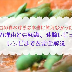 ダイエットには枝豆と聞いて食べすぎた人はクリック!体験レビューあり