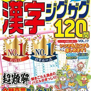 厳選漢字ジグザグ120問 VOL.17