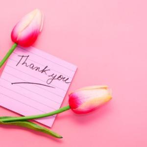 「ありがとう」の催促