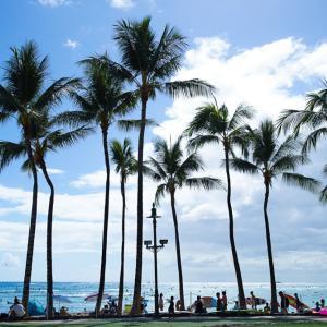 GuamからHawaiiへ