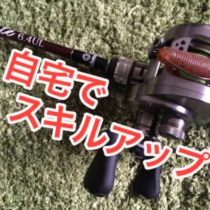 家で釣りの上達を目指す 〜ピッチング編〜