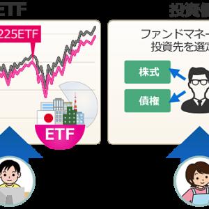 投資信託とETFの違いを簡単に分かりやすく説明してみた
