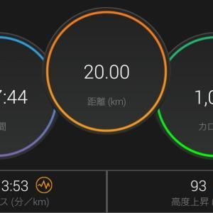 湿度高めの3.33km×6段のBU走