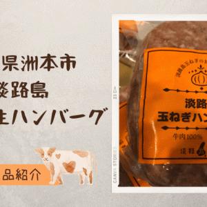 【ふるさと納税】兵庫県洲本市「淡路島たまねぎ生ハンバーグ(200g)5個セット」食べてみた。