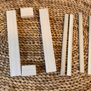 木製ミニプランターを作りました