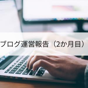 ブログ運営報告(2か月目)