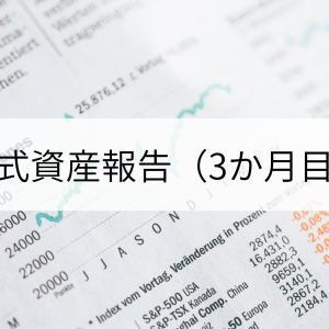 株式資産報告(3か月目)