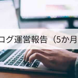 ブログ運営報告(5か月目)