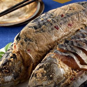 お刺身OKの鯖のへしこ!食べ方いろいろ楽しめる!