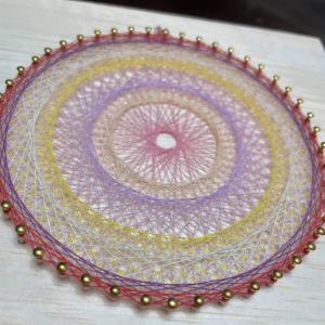 【ご感想】あなたの好きを集めた糸かけ曼荼羅