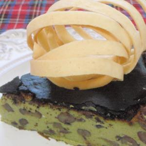 抹茶とあずきの和風バスクチーズケーキ・アマファソン