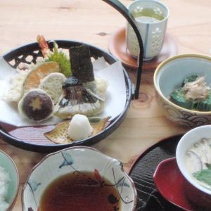天ぷら × 茶碗蒸し+α