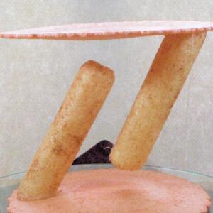 食べ物が宙に浮かぶ!「テンセグリティ」実験