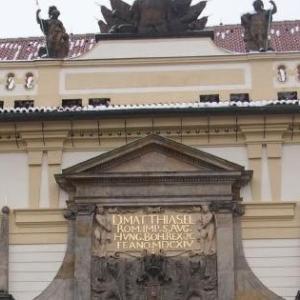 冬の中央ヨーロッパ 娘と一緒の気まま旅 7 プラハ城と聖ヴィート教会