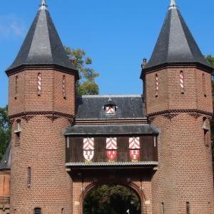 オランダ・ベルギードライブ周遊旅行 7 オランダ最大級のお城、デ・ハール城