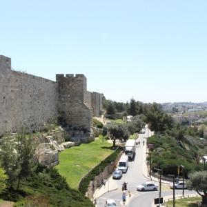 エルサレム旧市街を囲む、城壁ウォーク イスラエル旅行記 19