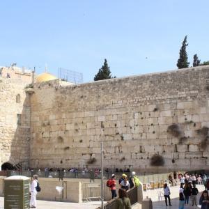 ユダヤ人の歴史を見つめてきた、嘆きの壁 イスラエル旅行記 22