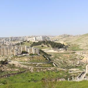 イエスキリスト誕生のお告げがあったという羊飼いの野と教会 イスラエル旅行記 25