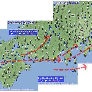 東京、南風吹かず…
