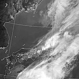 にんじん雲〜積乱雲の消長