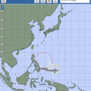 台風2号発生!まさか来ないよね
