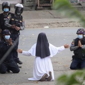 いまミャンマーで起こっていること…