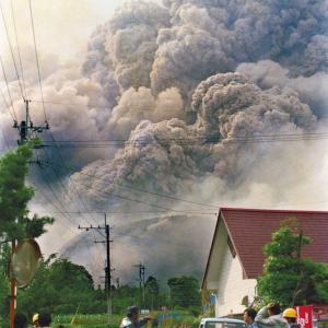 雲仙普賢岳の大火砕流〜30年前の今日