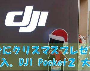 DJI Pocket 2    comboを購入しました。                       I bought a DJI Pocket 2 comb.