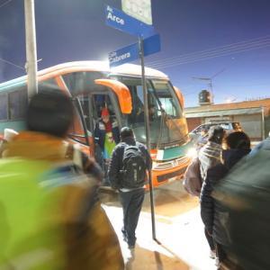 2020/01/18-25 ボリビア/ウユニ塩湖旅行⑧ ~チリへの帰路