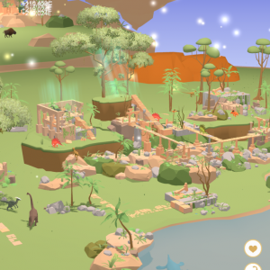 恐竜たちのオアシスを作る癒しアプリ「Dino lsland」をレビュー!