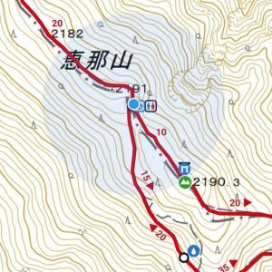 【プチ登山】恵那山山頂でテント泊