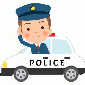 ジジ様👴🏻初パトカー