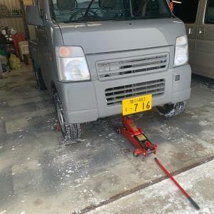 DA63T キャリイトラック 軽トラ ブレーキパッド交換