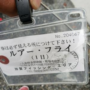 初めての加賀フィッシングエリア。リアクションバイトしたのは?