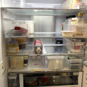 冷蔵の整理&掃除