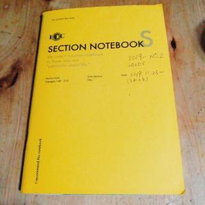 あらゆる情報を1つに! ラダイトのファンクションノート一冊終了