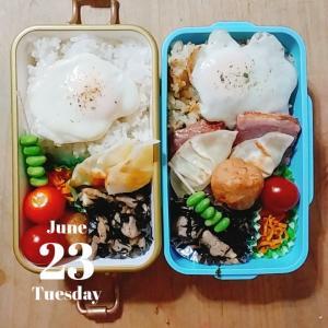 6/23 今日の睡眠ログ&お弁当記録