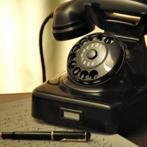 お友達から電話がかかってきました!