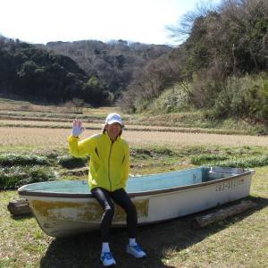 春の三舟山ジョギング  1525