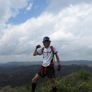 高宕山・八良塚、監視所(アドベンチャー)コース・トレラン 1542