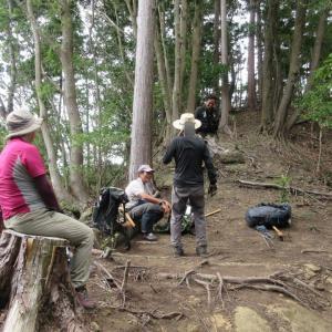 整備隊の高宕大滝トレイルラン 1610