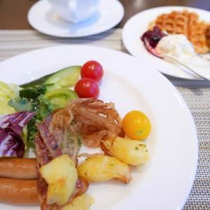 「JWマリオットホテル奈良」の朝食ビュッフェ~2020年冬・子連れ旅行~