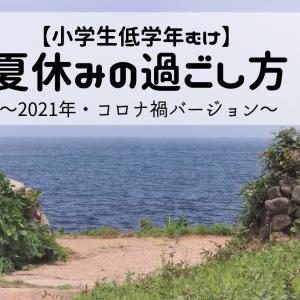【小学生低学年むけ】楽しい&有意義な「夏休み」の過ごし方~2021年・コロナ禍バージョン~