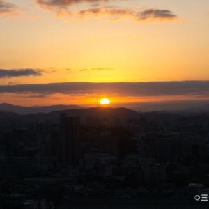 【福岡の穴場スポット】鷲尾愛宕神社と音次郎稲荷神社に初日の出を見に行ってきた