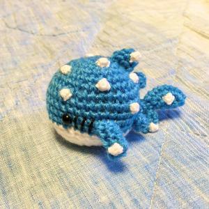ジンベエザメを編みました